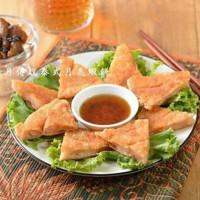 高雄市美食 攤販 異國小吃 高月傳說月亮蝦餅 照片