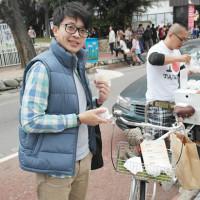 台中市美食 攤販 台式小吃 力飯丸 照片