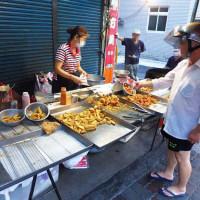 新北市美食 攤販 台式小吃 化成路炸雞店 照片