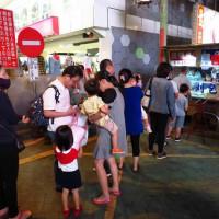 新北市美食 攤販 台式小吃 新莊老街潤餅捲刈包 照片