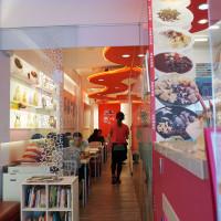 台南市美食 餐廳 飲料、甜品 甜品甜湯 彩虹雪雪花冰甜品屋 照片