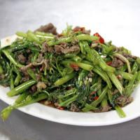 桃園市美食 餐廳 中式料理 熱炒、快炒 李.北港炒羊肉 照片