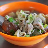 台中市美食 餐廳 中式料理 小吃 阿發炒麵豬血湯 照片