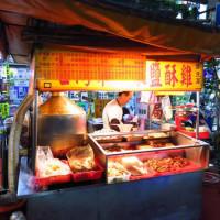 新北市美食 攤販 台式小吃 中和街鹹酥雞 照片