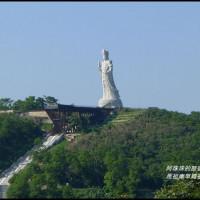 連江縣休閒旅遊 景點 古蹟寺廟 馬祖南竿媽祖巨神 照片
