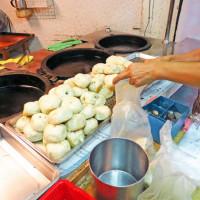 新北市美食 攤販 台式小吃 雙和水煎包 照片