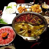 台北市美食 餐廳 火鍋 麻辣鍋 紅 麻辣老鍋 照片