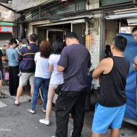 台中市美食 攤販 台式小吃 北屯軍功路無名蛋餅早餐 照片