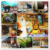 雲林縣休閒旅遊 景點 景點其他 7-11魔法喵屋 (斗六保庄店) 照片