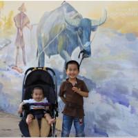 桃園市休閒旅遊 景點 景點其他 蘆竹坑口彩繪藝術村 照片