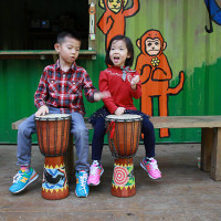 花蓮縣休閒旅遊 景點 森林遊樂區 野猴子探險樂園 照片