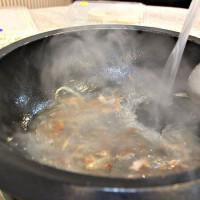 桃園市美食 餐廳 火鍋 沙茶、石頭火鍋 德川石頭火鍋城 照片