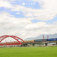 花蓮縣休閒旅遊 景點 車站 客城鐵橋 照片
