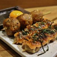 台北市美食 餐廳 餐廳燒烤 串燒 菜鳥居酒屋 照片