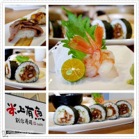 嘉義市美食 餐廳 異國料理 日式料理 米上有魚創作壽司 照片