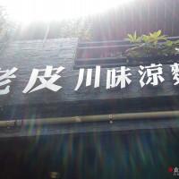高雄市美食 餐廳 中式料理 川菜 老皮川味涼麵 照片