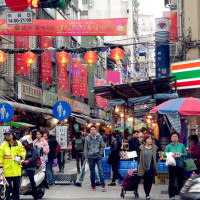 台北市休閒旅遊 購物娛樂 購物娛樂其他 華陰街商圈 照片