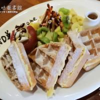 桃園市美食 餐廳 異國料理 多國料理 WD美味圖書館 照片