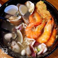 台南市美食 餐廳 中式料理 小吃 冠津海產粥 照片