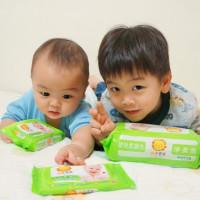 台北市休閒旅遊 購物娛樂 購物娛樂其他 獅子寶寶-嬰兒純水柔濕巾 照片