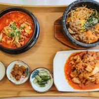 高雄市美食 餐廳 異國料理 韓式料理 木槿花韓式食堂 照片