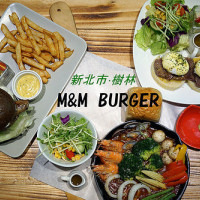 新北市美食 餐廳 異國料理 美式料理 m&m Burger咬一口漢堡 照片