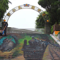 苗栗縣休閒旅遊 景點 景點其他 3D彩繪天梯 照片
