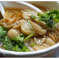台北市美食 攤販 台式小吃 北投豐年公園口大腸麵線 照片