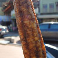 台中市美食 餐廳 中式料理 小吃 黑石頭碳烤玉米 照片