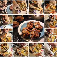 苗栗縣美食 餐廳 中式料理 紅心大閘蟹生態養殖農場 照片