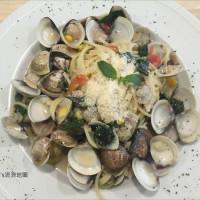 苗栗縣美食 餐廳 異國料理 義式料理 巴西里焗烤義大利麵 照片