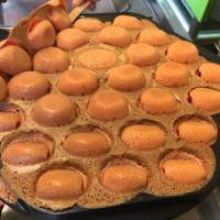 台南市美食 攤販 異國小吃 漫步佐敦港式雞蛋仔 照片