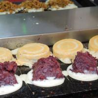 新北市美食 攤販 甜點、糕餅 萬丹紅豆餅 照片