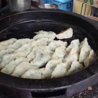 新竹縣美食 攤販 攤販其他 芎林市場貨車早餐&蔬菜煎餃 照片
