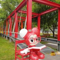 台南市休閒旅遊 景點 藝文中心 新營美術園區 童年狂想曲 照片