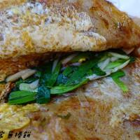 宜蘭縣美食 攤販 台式小吃 羅家蔥捲餅 照片