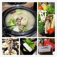 台中市美食 餐廳 火鍋 沙茶、石頭火鍋 八吋鍋 照片
