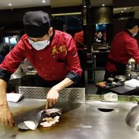 台北市美食 餐廳 餐廳燒烤 鐵板燒 天銅平價鐵板燒 照片
