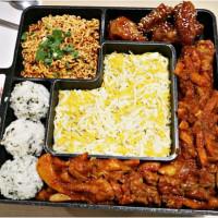 台北市美食 餐廳 異國料理 韓式料理 OMAYA春川炒雞 照片