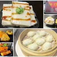 台北市美食 餐廳 素食 功德林上海素食料理點心 照片