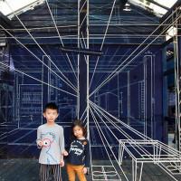台南市休閒旅遊 景點 藝文中心 新藍曬圖文創園區 照片