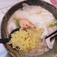 台南市美食 攤販 台式小吃 美味鍋燒意麵 照片