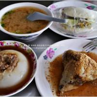高雄市美食 餐廳 中式料理 小吃 龍華市場古早味碗粿、肉粽、刈包 照片