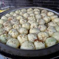 台北市美食 攤販 包類、餃類、餅類 無名上海生煎包 照片
