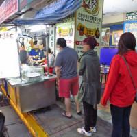 台北市美食 攤販 台式小吃 大橋頭大腸煎 照片