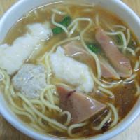 台北市美食 餐廳 中式料理 小吃 阿伯肉焿 照片