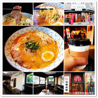 台中市美食 餐廳 異國料理 日式料理 鐵人拉麵本舖黑の屋 照片
