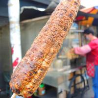 嘉義市美食 攤販 攤販燒烤 阿桃烤玉米 照片