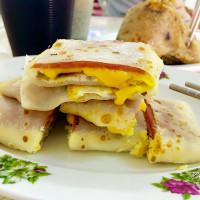 台南市美食 攤販 台式小吃 老丘早餐 照片