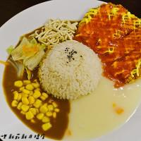 新北市美食 餐廳 中式料理 雙醬咖哩 新莊新月橋店 照片